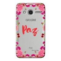 Capa Personalizada para Alcatel Pixi 4 4.0 Paz - TP268