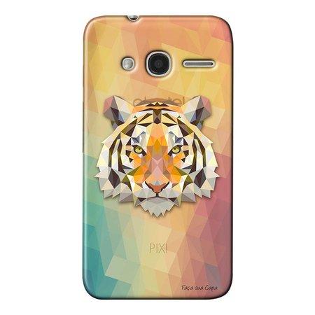 Capa Personalizada para Alcatel Pixi 4 4.0 Tigre - TP237
