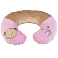 Protetor de Pescoço Urso Plush Rosa - Kababy