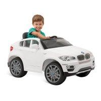 BMW X6 Elétrica Branca com Controle Remoto - Bandeirante