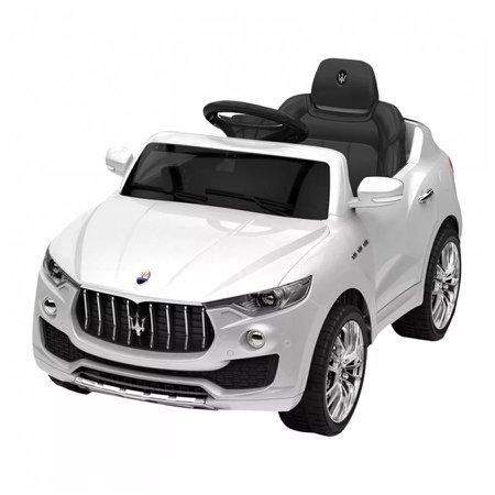 Carro Elétrico Infantil Maserati Branca 6 Volts - Xalingo