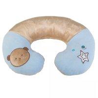 Protetor de Pescoço Urso Plush Azul - Kababy