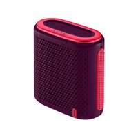 Caixa De Som Pulse Mini Bluetooth/Sd/P2 10W Rms Roxo E Rosa - SP239