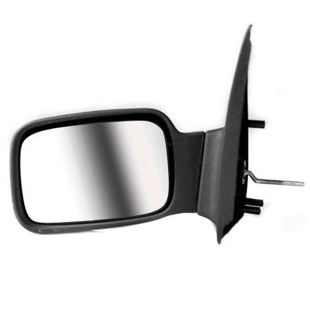 Espelho Retrovisor Controle Interno Ford Courier Todos Esquerdo