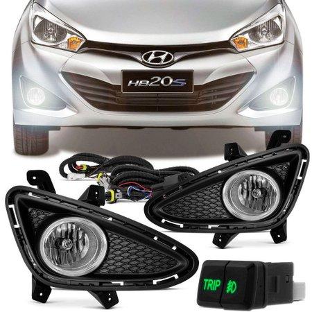 Kit Farol de Milha Hyundai HB20 HB20S TRIP HB20 SPICY 2012 a 2014