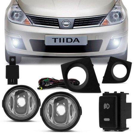 Kit Farol de Milha Nissan Tiida 2009 a 2013