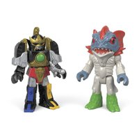 Imaginext Power Rangers Thunder Megazord e Pirantishead - Mattel