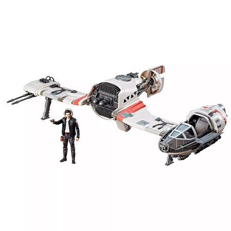 Star Wars Veículo E Figura Ski Speeder Resistance EP8 Force Link Classe C - Hasbro