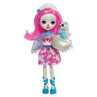 Enchantimals Boneca e Bichinho Saffi Swan e Poise - Mattel