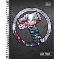 Caderno Espiral Capa Dura Colegial Thor 10M 160 Folhas - Tilibra