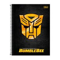 Caderno Espiral Capa Dura Logo Transformers 160 Folhas - Tilibra