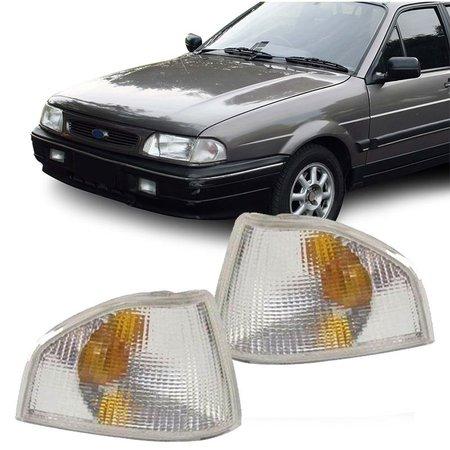 Lanterna Dianteira Pisca Ford Versailles Royale 1991 a 1997 Cristal Lado Esquerdo