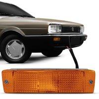 Lanterna Dianteira Pisca Volkswagen Quantum Santana GLS 1987 a 1990 Âmbar Lado Esquerdo