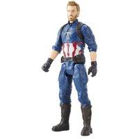 Boneco Avengers Titan Hero Power FX Capitão América 30 cm - Hasbro