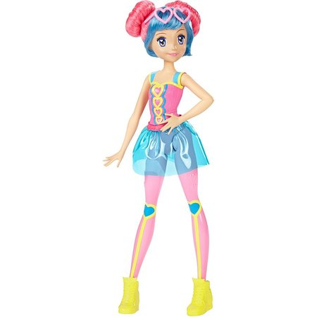 Boneca Barbie Amigas de Video Game Azul - Mattel