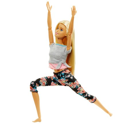 Barbie Feita para Mexer Loira - Mattel