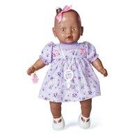 Boneca Nenezinho Negro Vestido Lilás - Estrela