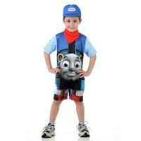 Fantasia Infantil Thomas e seus Amigos Azul - Sulamericana Fantasias