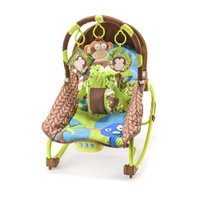 Cadeira De Balanço Para Bebês 0-20 Kg Macaco Multikids Baby - BB365