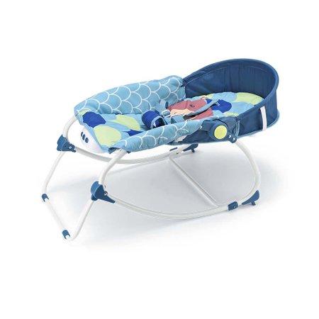 Cadeira De Balanço Para Bebês 0-20 Kg Azul Weego - 4028