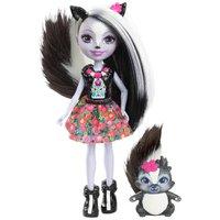 Enchantimals Boneca e Bichinho Sage Skunk - Mattel