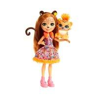 Enchantimals Boneca e Bichinho Cherish Cheeta - Mattel