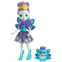 Enchantimals Boneca e Bichinho Patter Peacock - Mattel