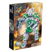 Robo Fighter Verde 215 peças - banbao