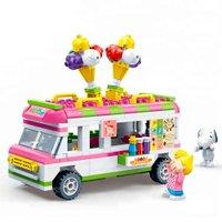 Snoopy Everyday Fun Carro de Sorvete 250 Peças - Banbao