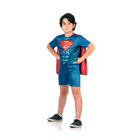 Fantasia Superman Pop com Musculatura - Sulamericana
