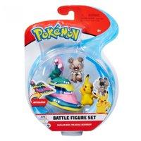 Pokemon Conjunto Muk de Alola, Pikachu e Rockruff - DTC