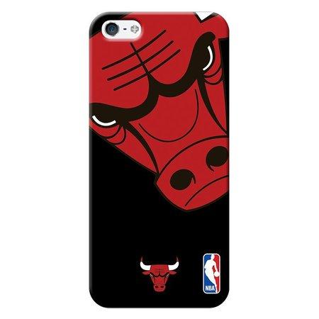 Capa de Celular NBA - Iphone 5 5S SE - Chicago Bulls - D05