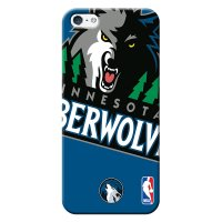 Capa de Celular NBA - Iphone 5C - Minnesota Timberwolves - D20