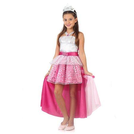 Fantasia Barbie Rock in Royals Luxo P - Sulamericana