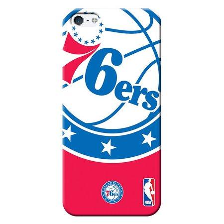 Capa de Celular NBA - Iphone 5C - Philadelphia 76ers - D25
