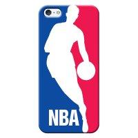 Capa de Celular NBA - Iphone 5 5S SE - Logo Man - F01