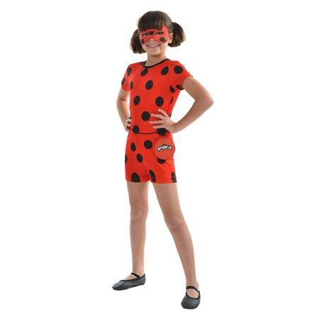 Fantasia Ladybug Pop M - Sulamericana