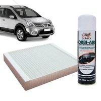 Filtro do Ar Condicionado Cabine Nissan Livina Grand Livina Livina X-Gear Tiida todos + Higienizador
