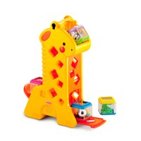 Girafa com Blocos Peek a Blocks Fisher Price - Mattel