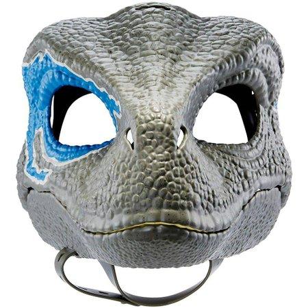 Jurassic World Máscara Velociraptor Blue - Mattel