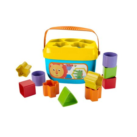 Fisher Price Novo Balde Primeiros Blocos - Mattel