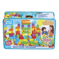 Fisher Price Mega Bloks Vamos Aprender Construindo Set Multicolor - Mattel