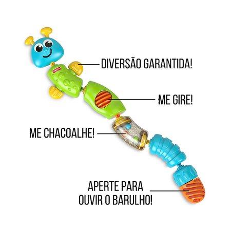 Fisher Price Snap Lock Catterpillar - Mattel
