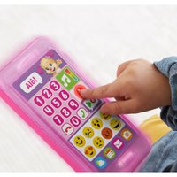 Fisher Price Telefone com Emojis Rosa - Mattel