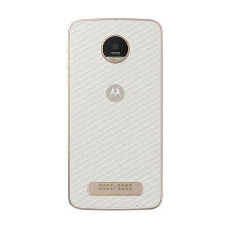 Película Traseira de Fibra de Carbono Transparente para Motorola Moto Z Play - Gorila Shield