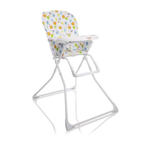 Cadeira de Refeição Nutri Branca Estampa Zoo 18kg IMP91253 - Voyage