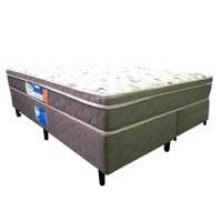 Cama Box + Colchão Netsono D33 - Altura 25 cm King Size 1,80 x 2,00