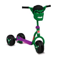 Patinete Hulk - Bandeirante