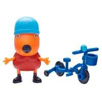 Peppa Pig Freddy com Bicicleta - DTC