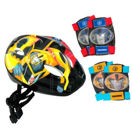Patins Ajustável Transformers com Kit de Segurança - Astro Toys